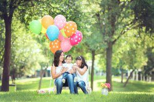niñas, en un parque de León, Gto.
