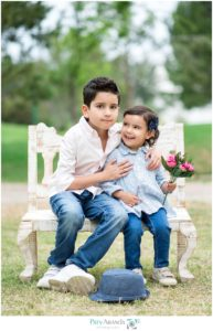 fotografía de hermanos