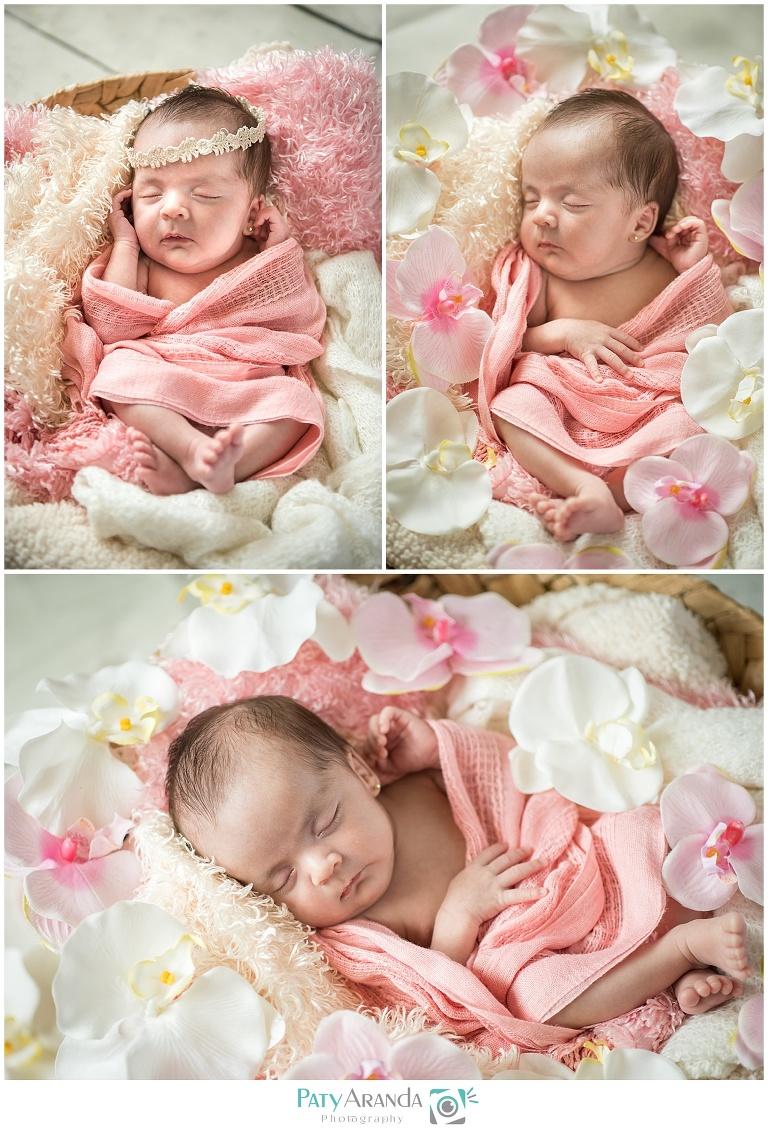 Fotografía de recién nacida en León, Gto.