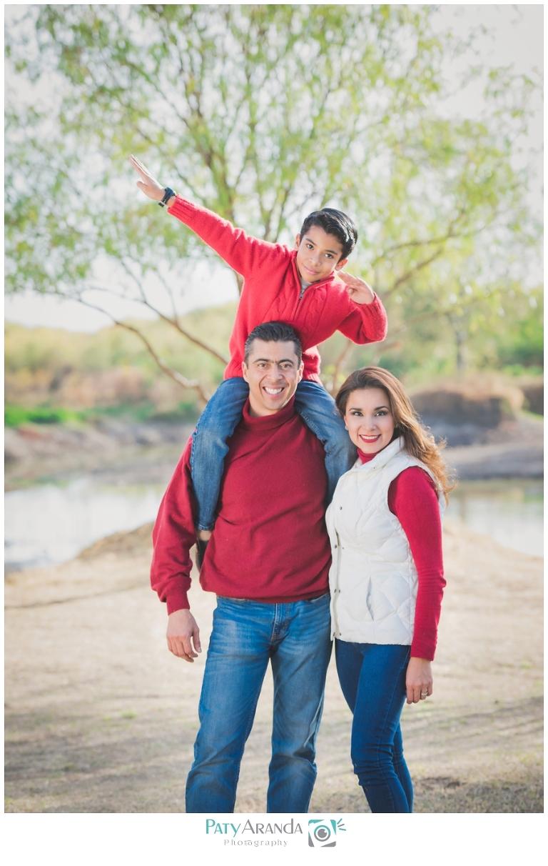 Fotografía de padres e hijos en León, Gto.