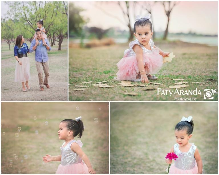 Sesión de fotos infantil tomada en León, Gto.