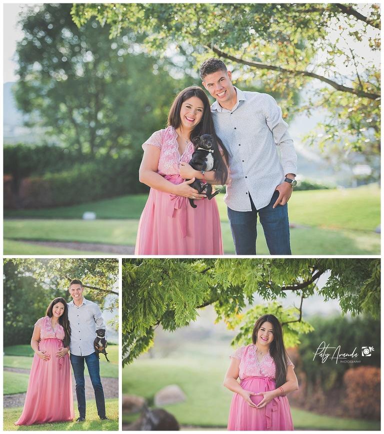 Fotógrafo de embarazo al aire libre León, Gto.