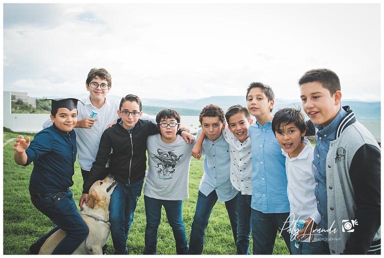sesión de fotos de jóvenes en León, Gto.