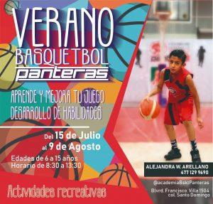 curso de verano basquet