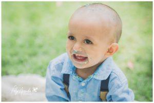 Fotografía de niño de un año en León, Gto.