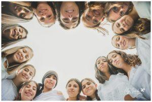 Sesión de fotos al aire libre niñas y jóvenes en León, Gto.