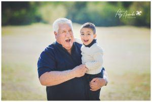 Sesión de fotos con abuelos en León, Gto.