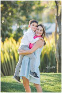 Sesión de fotos mamá e hijo en León