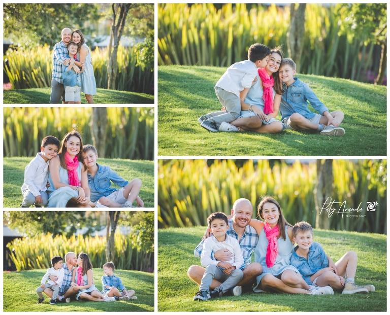 fotografía de niños y familias en León