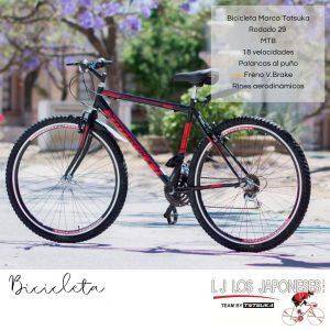 Bicicleta Totzuca Los Japoneses